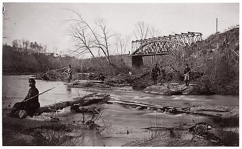 Bull Run. Bridge Near Union Mills