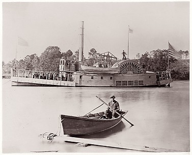 [U.S. Gunboat].  Brady album, p. 161