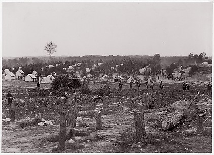 Camp of 30th Pennsylvania Infantry