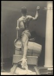[Male Model Posed in Saddle for Anna Huntington&#39;s 