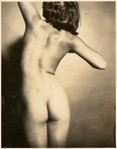 [Nude Torso of Young Girl from the Back]