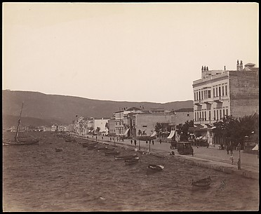 [Smyrna, General View of the Quais]