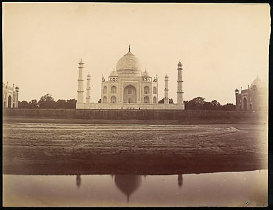 View of the Taj Mahal from the Jamuna, Agra