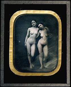 [Two Standing Female Nudes]