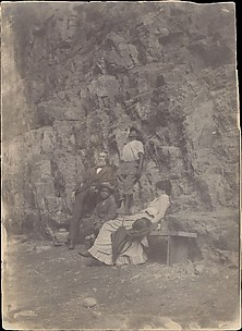 [William H. Macdowell and Margaret Eakins in Saltville (or Clinch Mountain), Virginia]