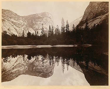 Mirror Lake, Valley of the Yosemite