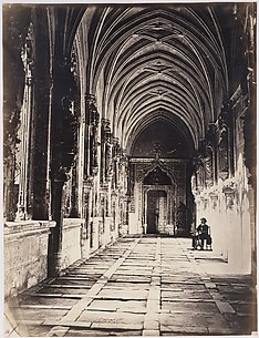 [Cloisters of the Church of Saint John of the Kings, Toledo, Spain]