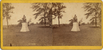 [11 Stereographic Views of Morse Statue, Central Park, New York]