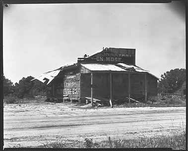 [Dilapidated Roadside General Store, Advance, Alabama]