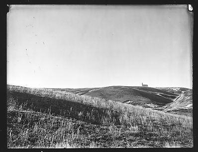[Field with Church in Distance, Possibly Truro, Massachusetts]