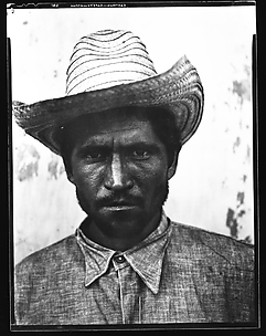 [Bearded Man in Straw Hat, Cuba]