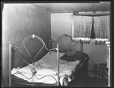 [Bedroom in Boarding House on Hudson Street, Residence of John Cheever, New York City]
