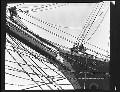[Ship&#39;s Prow and Rigging, New Bedford, Massachusetts]