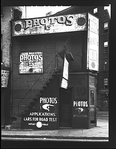 [License Photo Studio at Intersection of Baxter, Worth, and Park Streets, New York City]