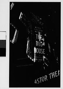 [Multiple Exposure of Neon Signs at Night, Times Square, New York City]