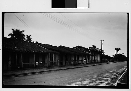[Row of Houses in Village, Cuba]