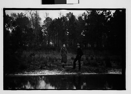 [Christine Fairchild and Paul Ninas in Clearing, Louisiana or Mississippi]