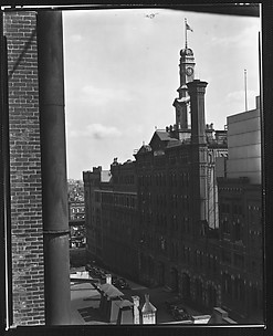 [Jacob Ruppert Brewery Building, From Roof of Evans's Apartment Building?, New York City]