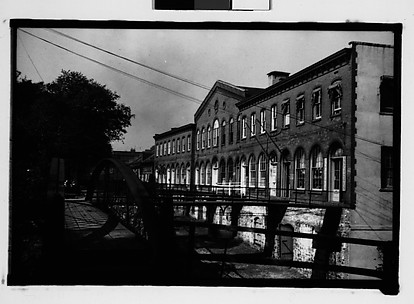 [Waterfront Building with Footbridges, Savannah, Georgia]
