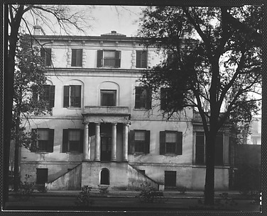 [Greek Revival House, 10 East Oglethorpe Avenue, Percival Ward, Savannah, Georgia]