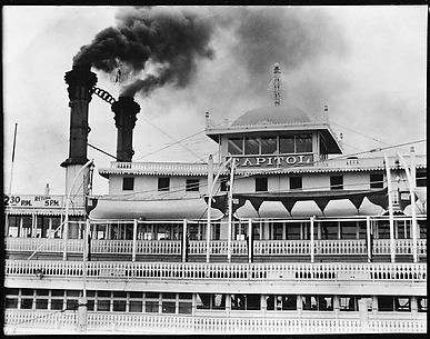 [Steamboat Capitol, New Orleans, Louisiana]