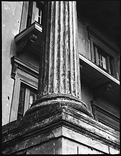 [Column Base, Belle Grove Plantation, White Castle, Louisiana]