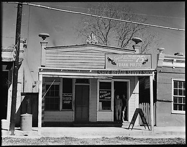 [Frank Polito Shoe Repair Shop, Louisiana]