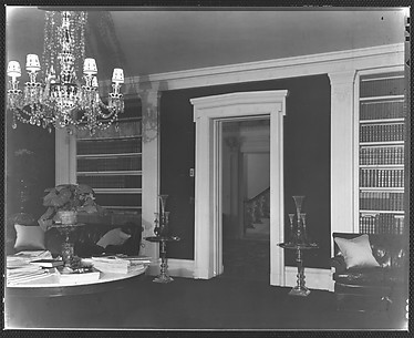 [Library in Residence of Gifford Cochran, Croton Falls, New York]