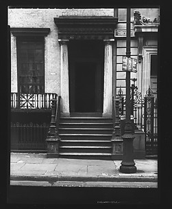 [Greek Revival Doorway, New York City]