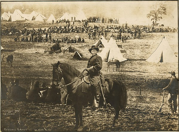 General Ulysses Grant at City Point