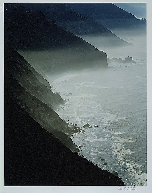 Mist on Coast, Big Sur, California