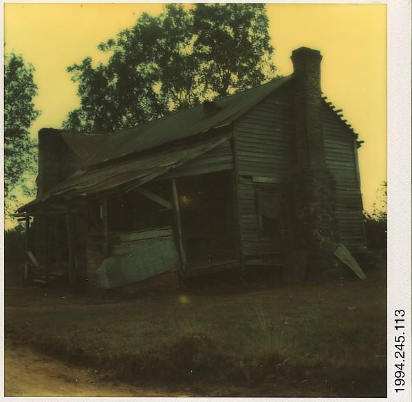 [Ramshackle House, Hale County, Alabama]