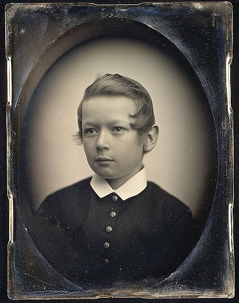 [Unidentified Boy in Dark Suit]