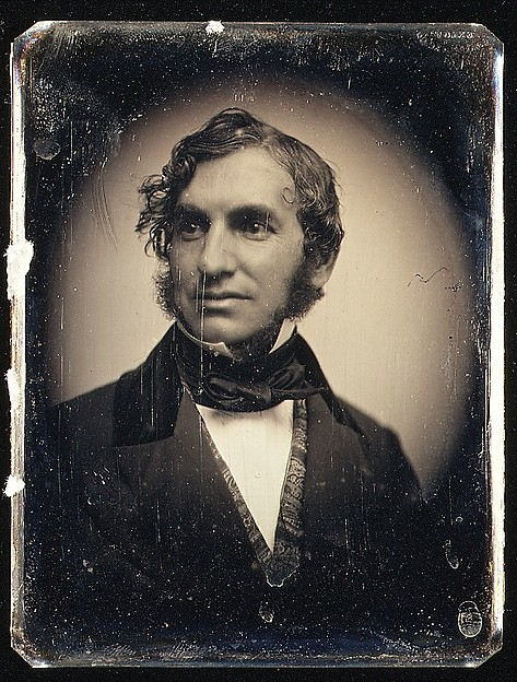 This is What Albert Sands Southworth and Henry Wadsworth Longfellow Looked Like  in 1850