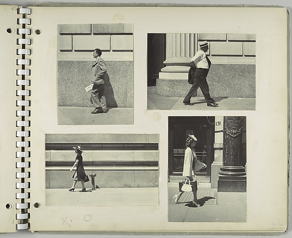 [Woman Walking Past Saks and Company Department Store, New York City]
