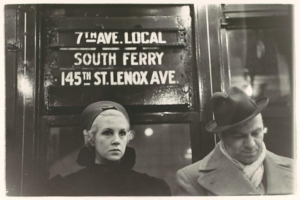 [Subway Passengers, New York City]