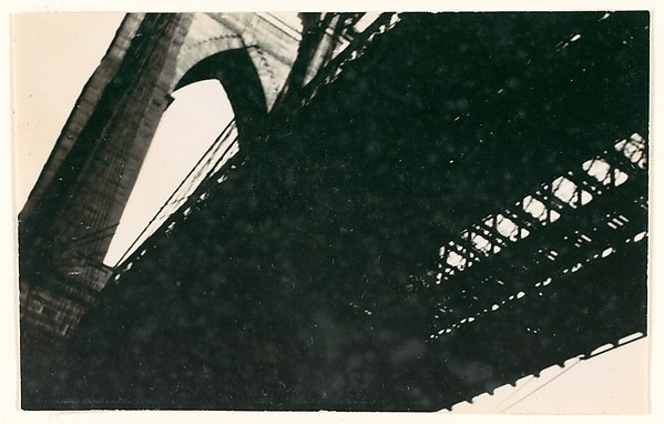 [Brooklyn Bridge, From Below, New York City]