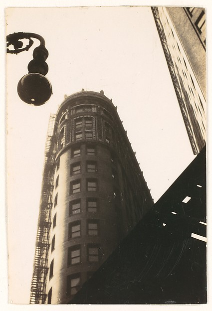 [Flatiron Building, From Below, New York City]