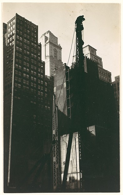 [Lincoln Building Construction Site, New York City]