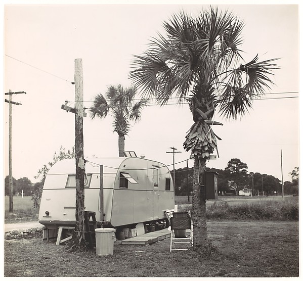 Trailer in Camp, Florida