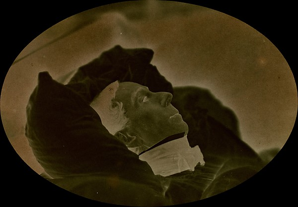 Jacques-Joseph Ebelman on his Deathbed