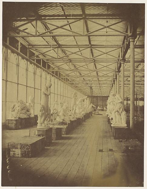Progress of the Crystal Palace at Sydenham
