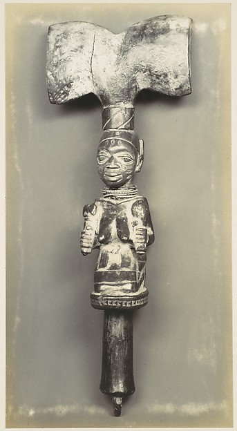 [Kneeling Figure (Sceptre Top), Dahomey]