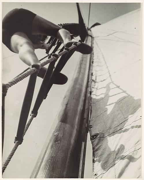 [Climbing the Mast]