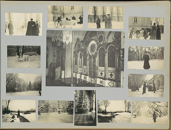 [Two Page Spread from Second Volume of Personal Album]