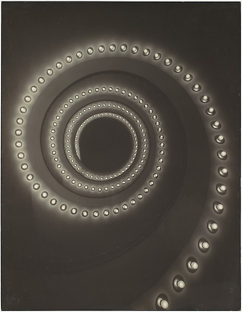 [Advertisement, Osram Company: Spiral of Light Bulbs]