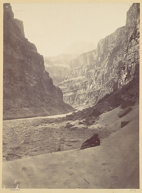 Grand Cañon of the Colorado River, Mouth of Kanab Wash, looking West