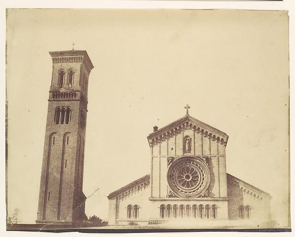[Wilton Church, Facade and Bell Tower]