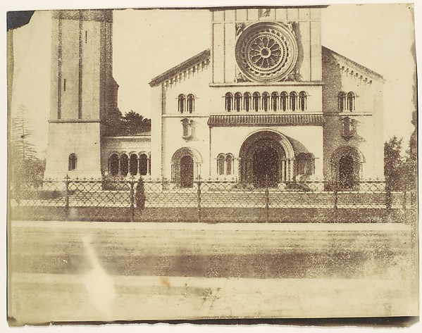 [Wilton Church, Facade and Bell Tower]