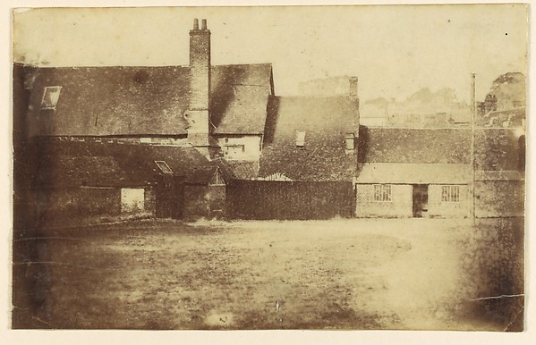 This is What Unknown and [Farm Buildings] Looked Like  in 1850